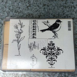 Stampin Up Friends 24-7 Rubber Stamp